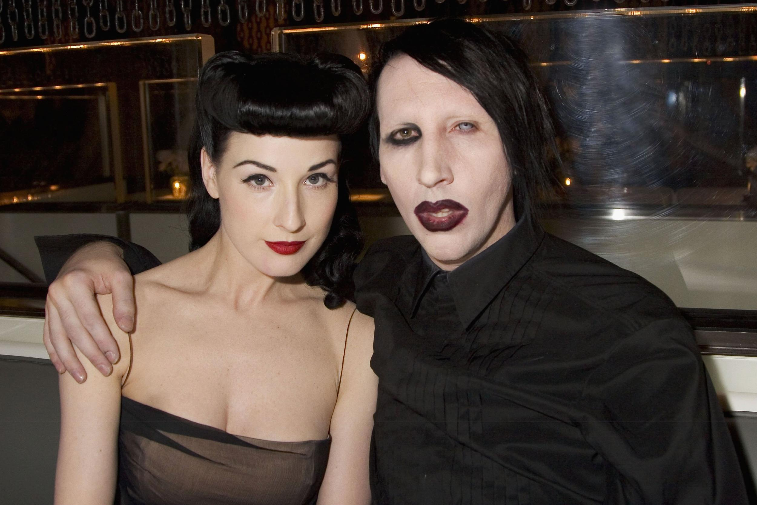 Dita Von Teese on remaining friends with Marilyn Manson ... Evan Rachel Wood Weight