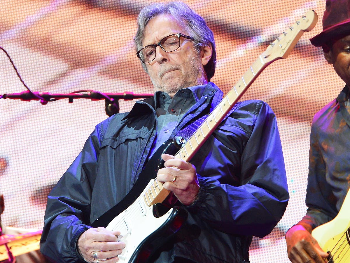 Eric Clapton reportedly helped fund an anti-lockdown band