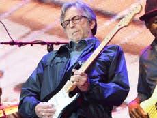 Eric Clapton mocked over new anti-vax anthem