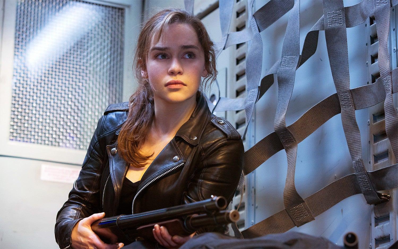 Game of Thrones actor Emilia Clarke shrugs off Terminator ...