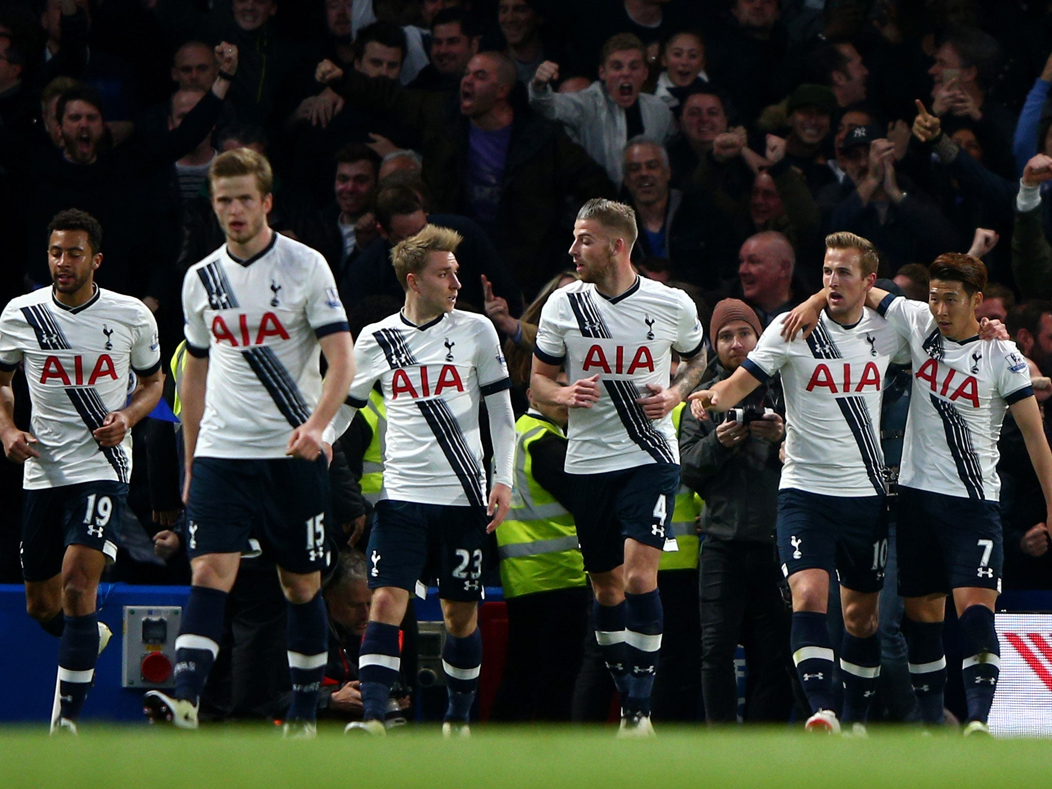 Chelsea 2 Tottenham 2: Mauricio Pochettino refuses to condemn heated Spurs players