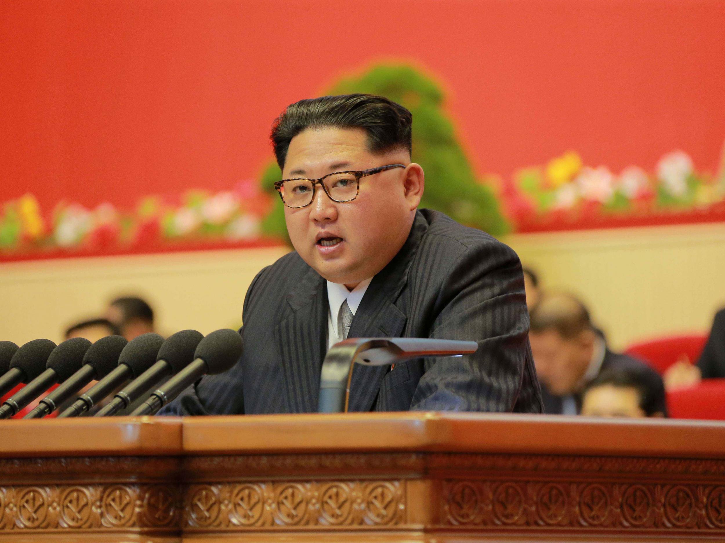Kim Jong-un executes two North Korea officials 'using anti-aircraft gun'