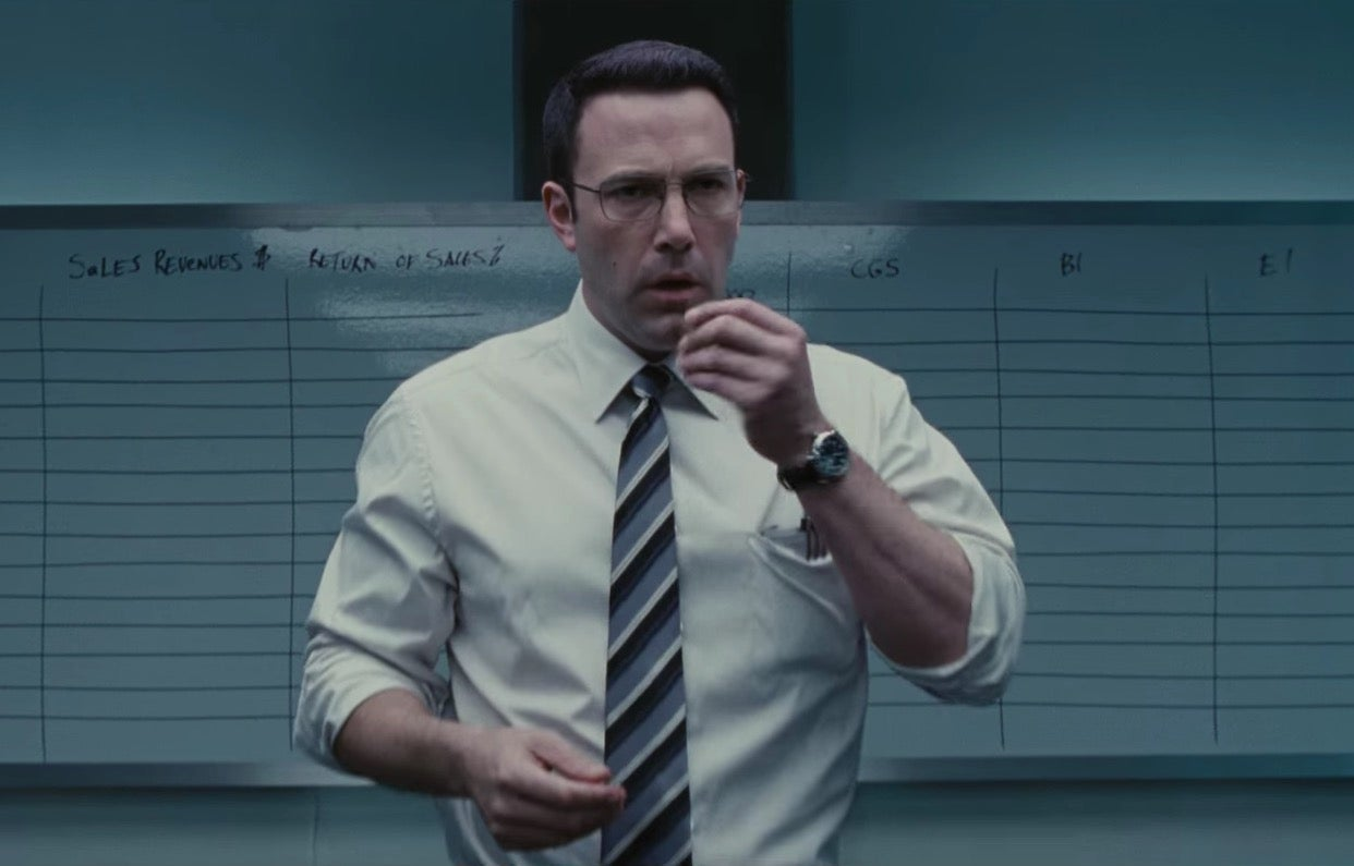 The Accountant trailer: Ben Affleck crunches sums, bad guys | News | Culture | The Independent