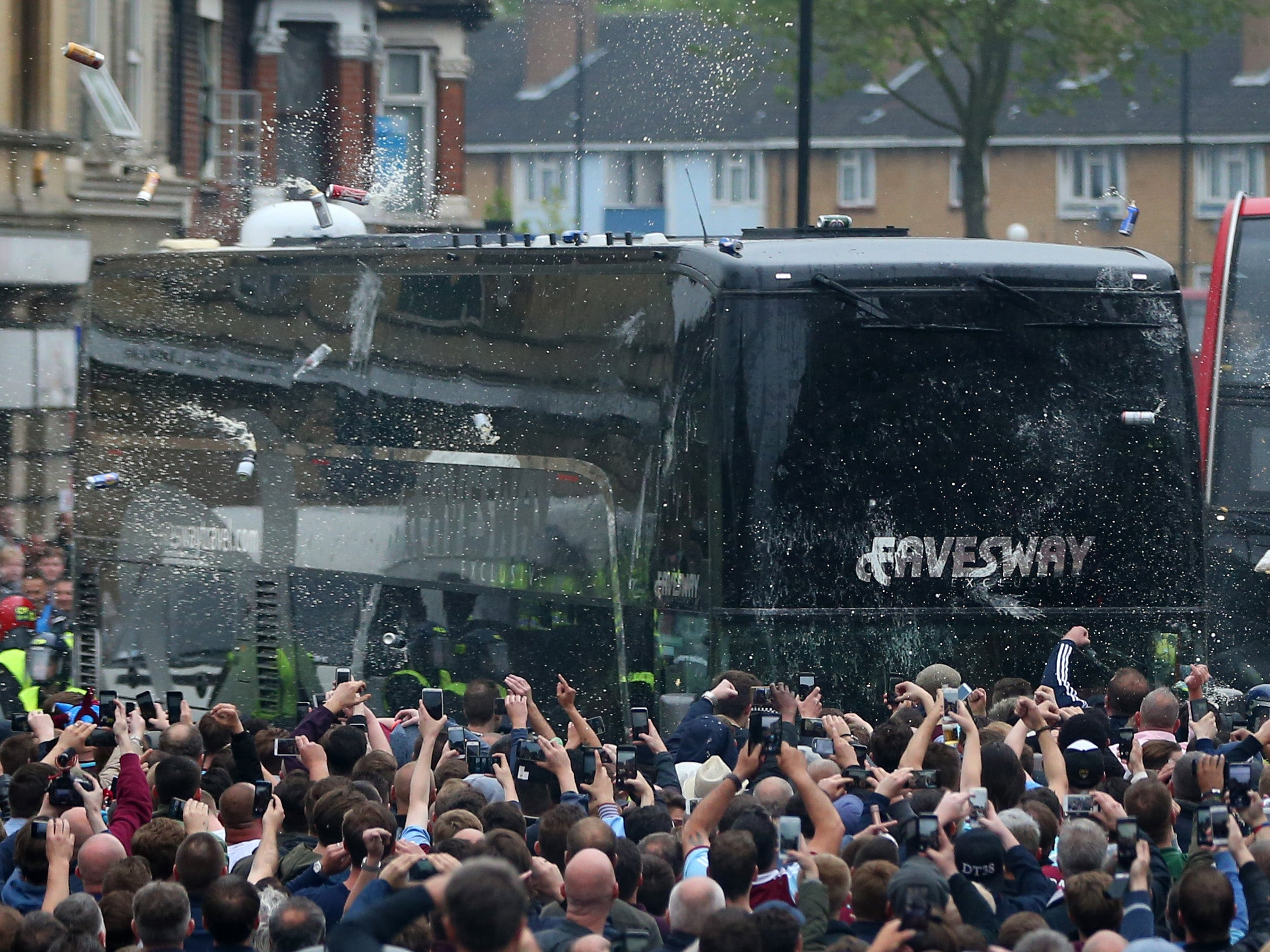 Manchester United bus attack: 28-year-old suspect arrested | Home News | News | The Independent