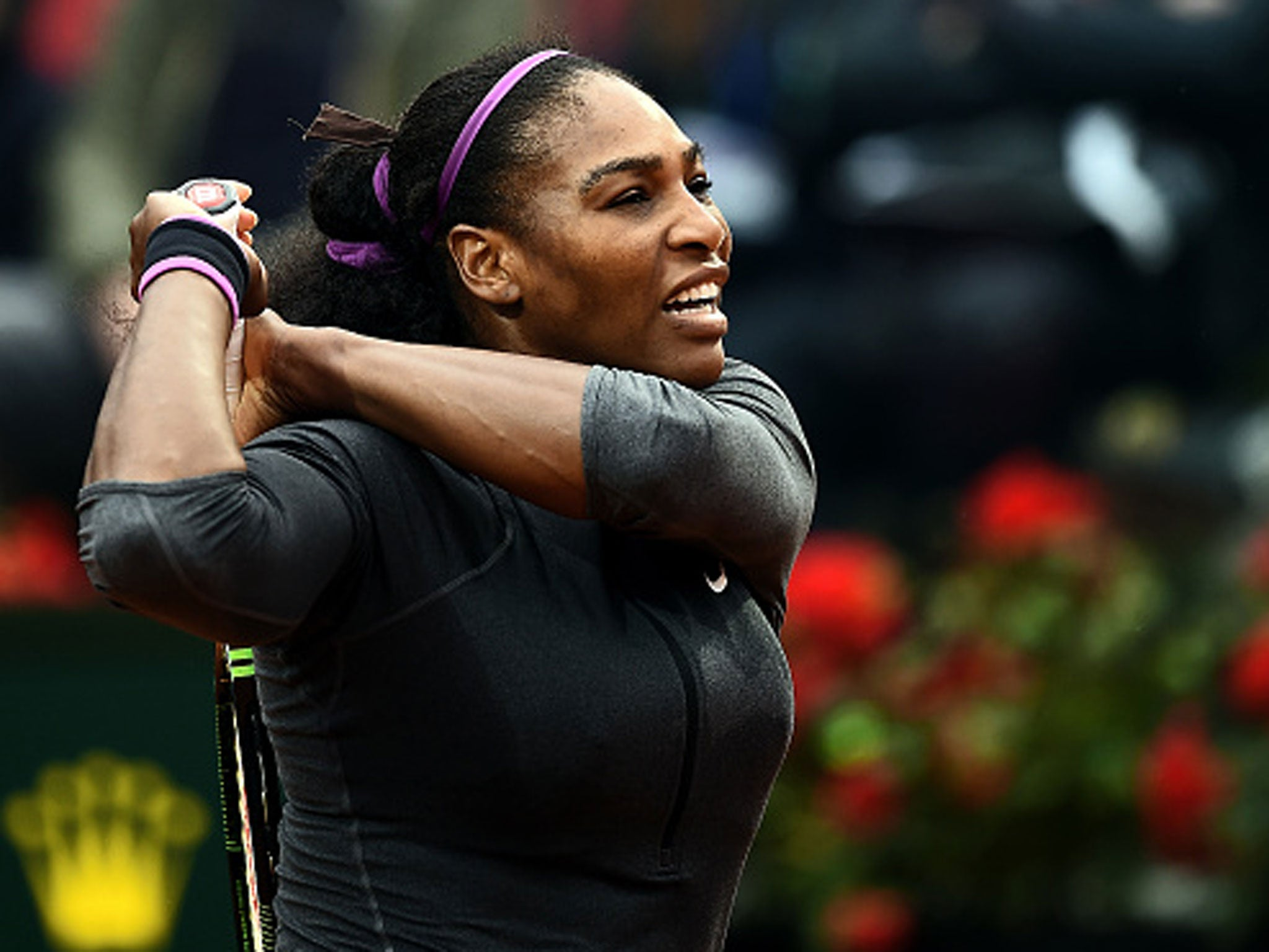 Serena Williams continues return after two months out to make final in Rome | Tennis | Sport | The Independent