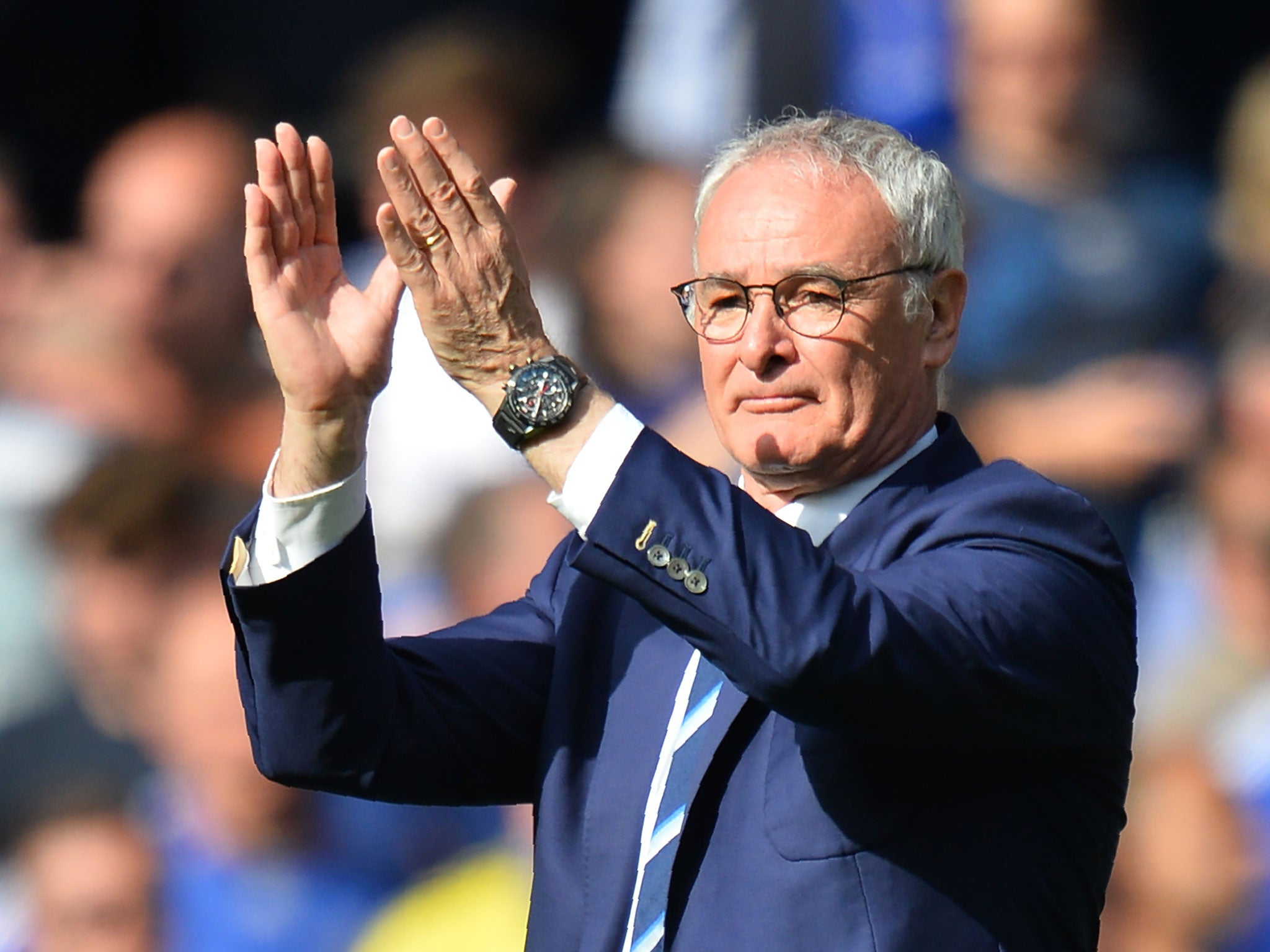 Claudio Ranieri moved by 'amazing experience' at Stamford Bridge as Leicester draw with Chelsea   Premier League   Sport   The Independent
