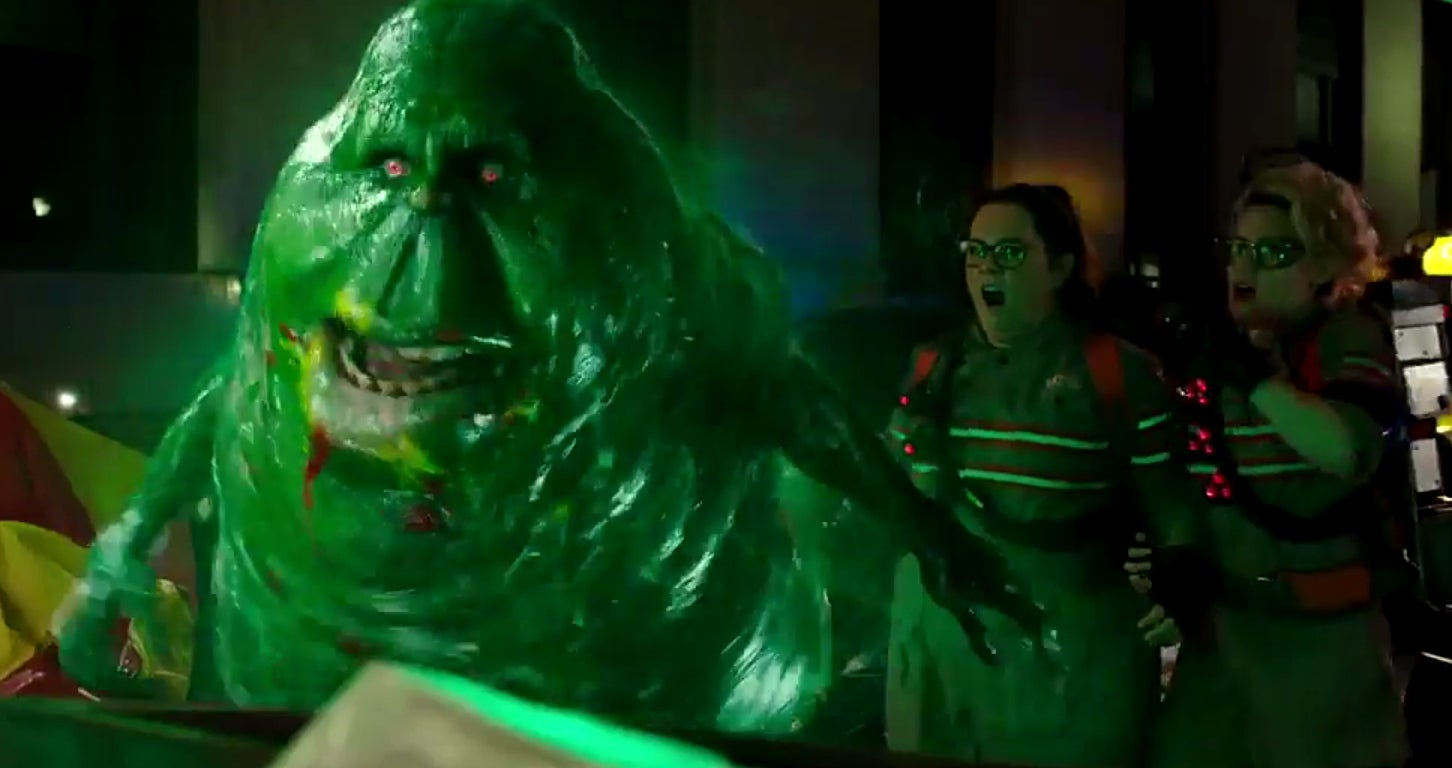 Ghostbusters new trailer: Slimer cameos in clip of Paul ...