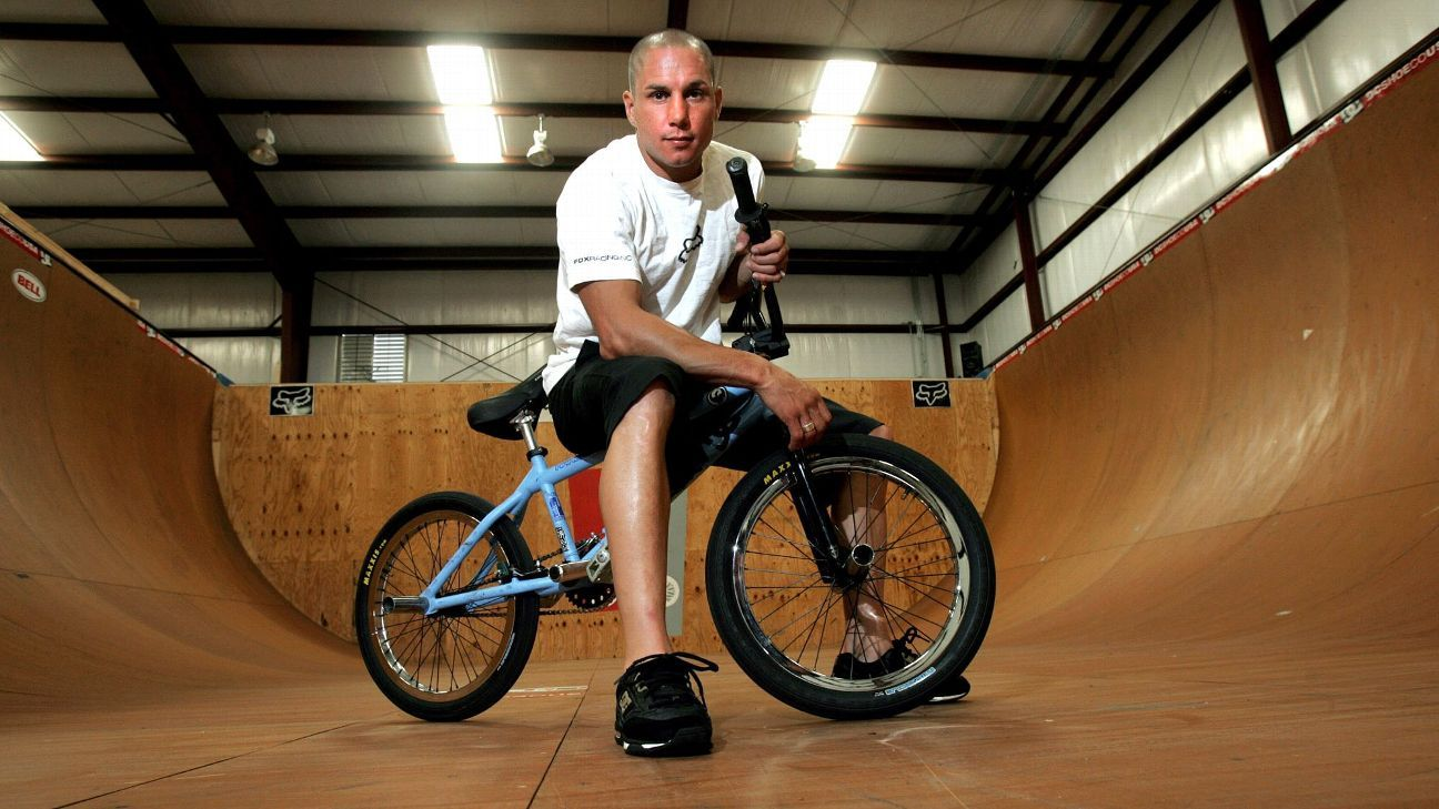 Dave Mirra, late BMX legend, suffered from CTE