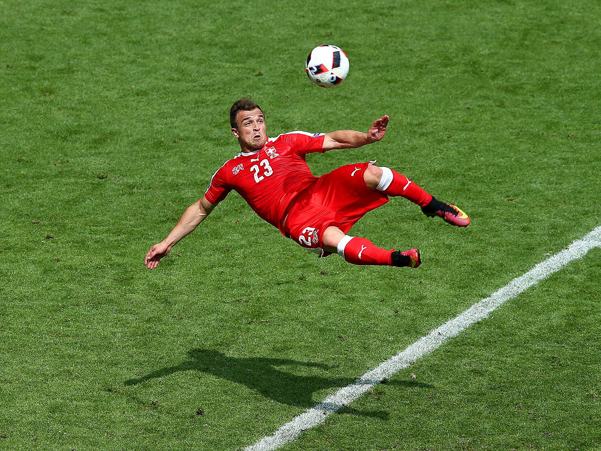 Xherdan Shaqiri just scored the goal of Euro 2016