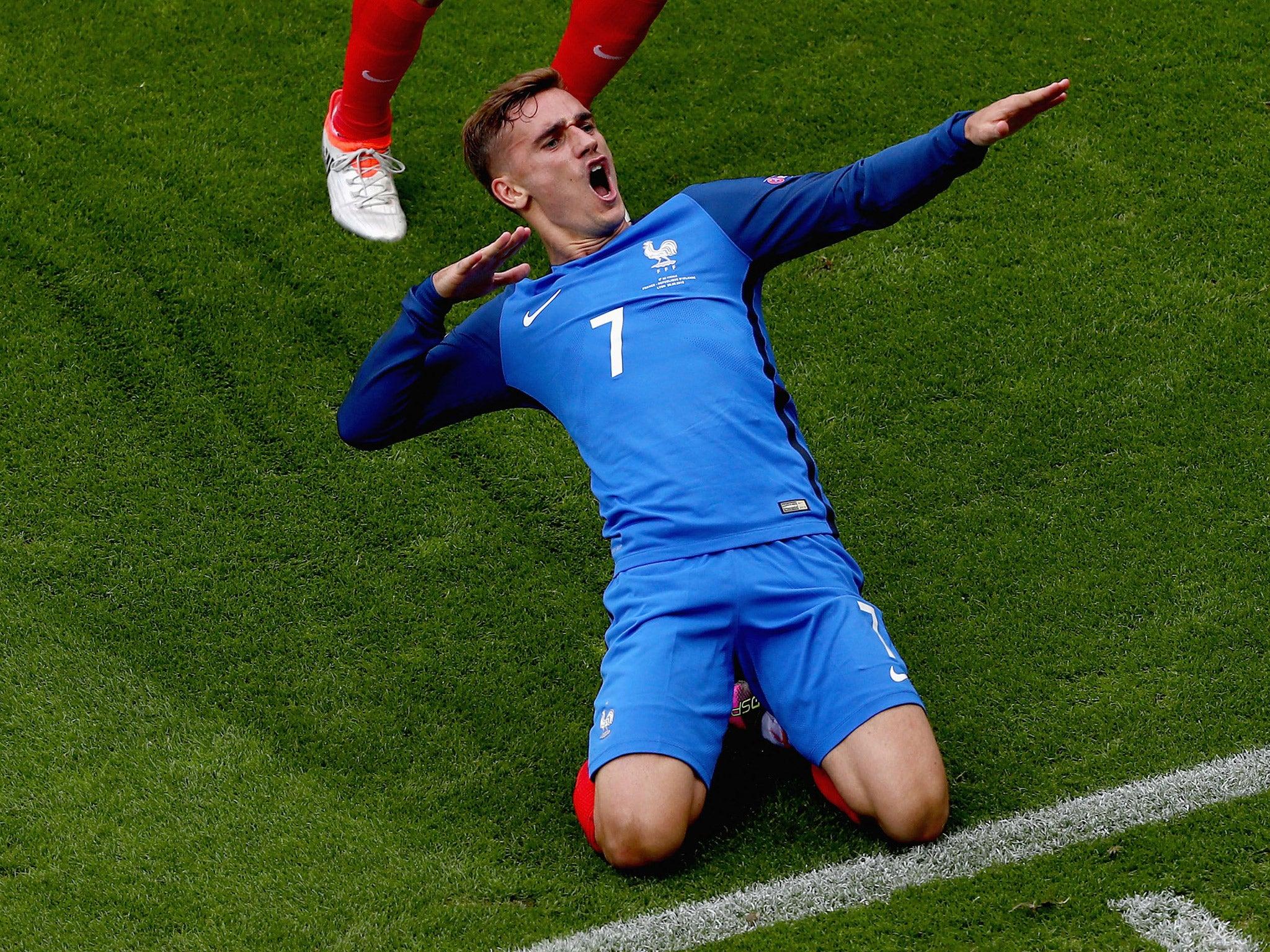France V Republic Of Ireland Player Ratings Antoine