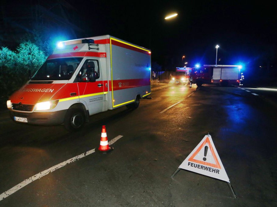 Man in axe attack on train near Würzburg, Germany