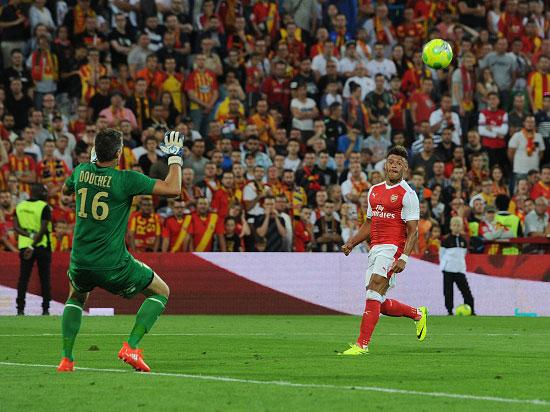 Lens vs Arsenal match report: Alex Oxlade-Chamberlain rescues draw for Gunners