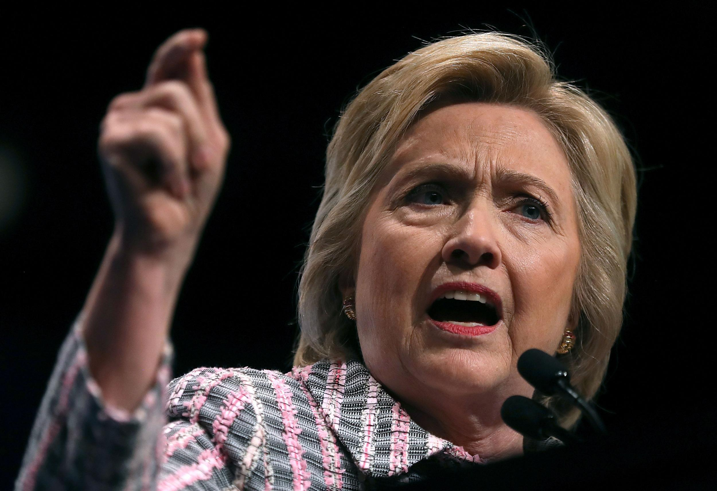 Hillary Clinton wants to review US strategy in Syria against Isis and Bashar al-Assad's 'murderous' regime