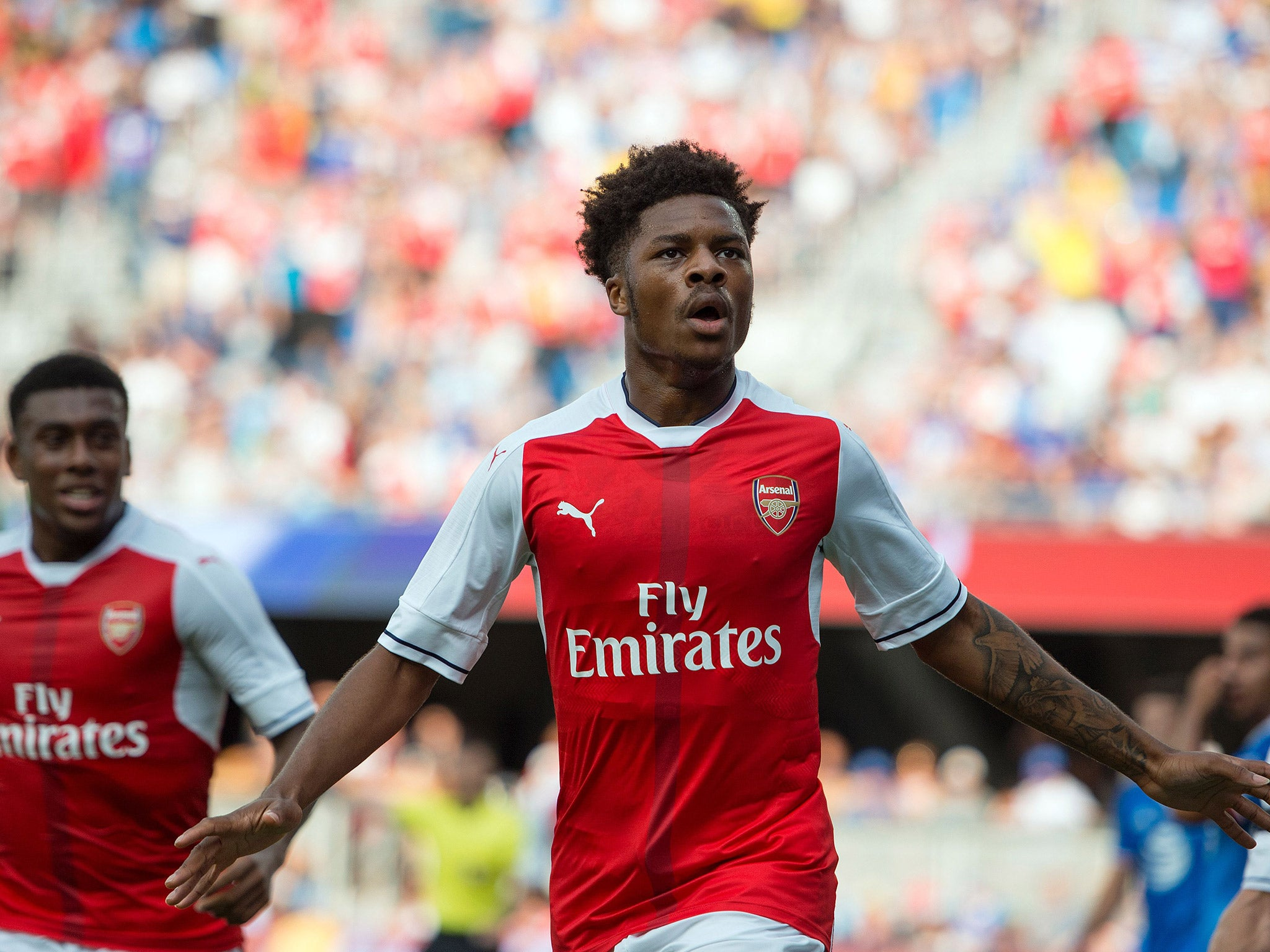Arsenal vs MLS All-Stars match report: Didier Drogba returns to haunt Gunners but Chuba Akpom seals late win