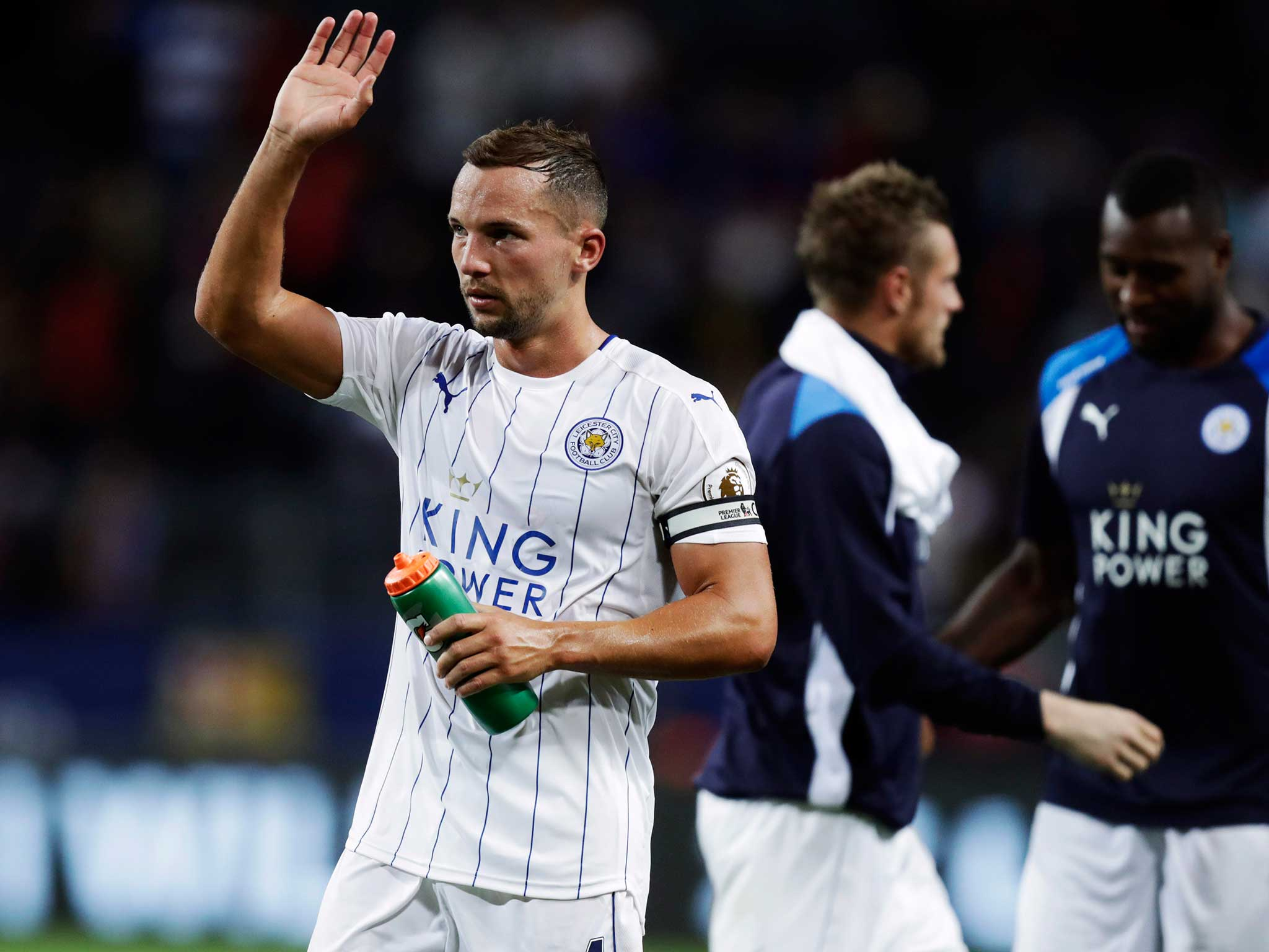 Leicester City news: Danny Drinkwater signs new five-year contract with Premier League champions