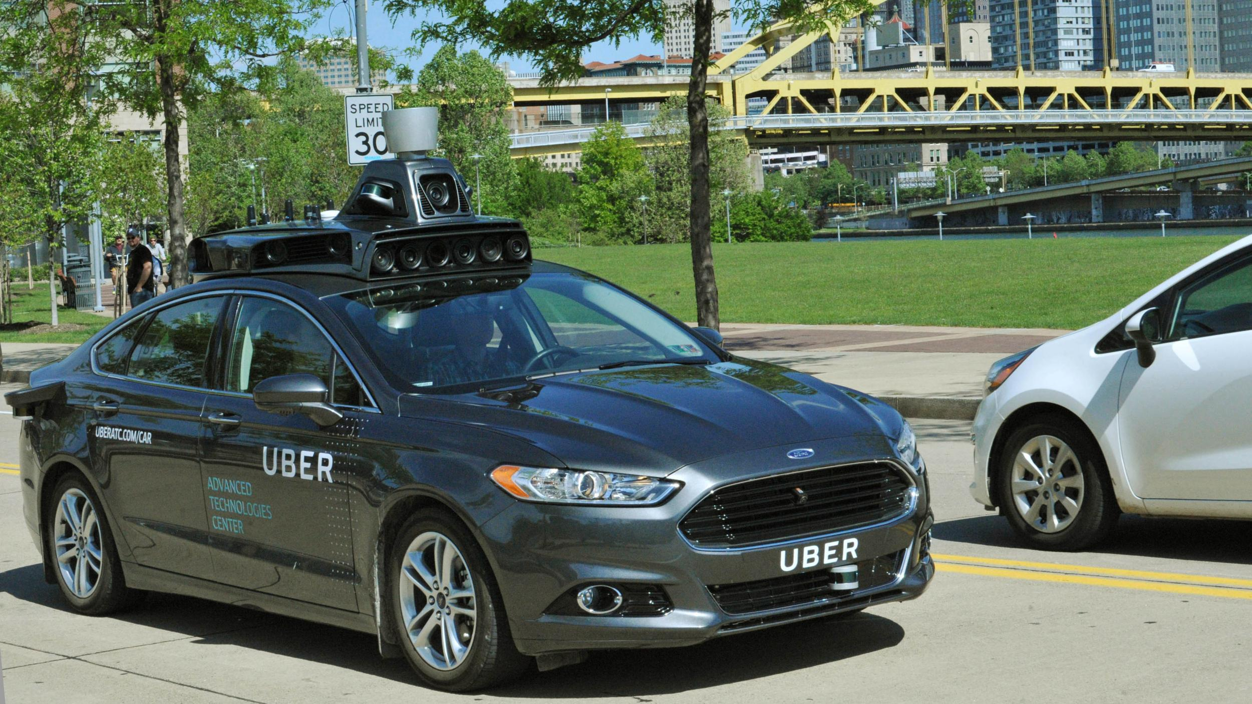 Self-driving Uber cars spotted in Pittsburgh
