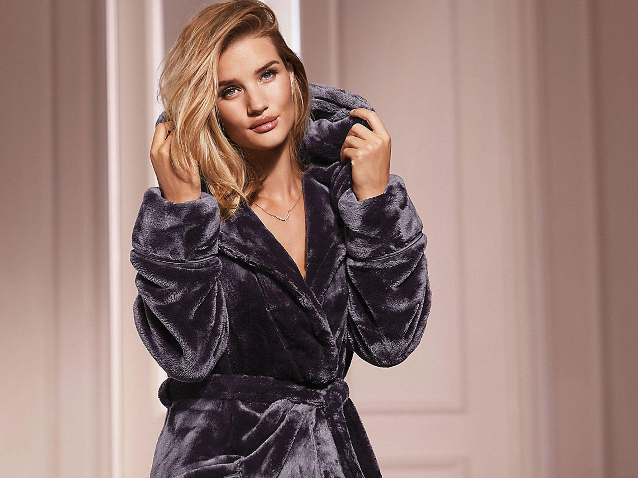 Ladies Luxury Dressing Gowns. Pink Dressing Gown For Girlus White ...