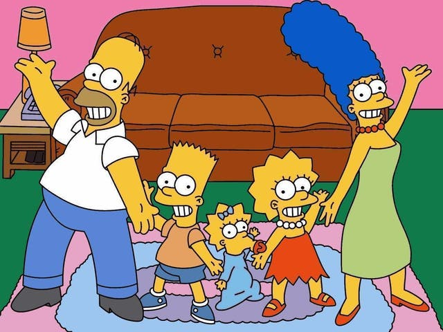 """When Marge tells Homer she is pregnant with Maggie in the episode """"And Maggie Makes Three"""", which first aired in 1995, a picture of Maggie can be seen hanging on the wall of the living room – a right clanger – considering this is before she is even born."""