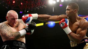 Joshua's needed only two rounds to see off Paul Butlin in his second professional fight when the referee called an end to the tie 50 seconds into the second round.