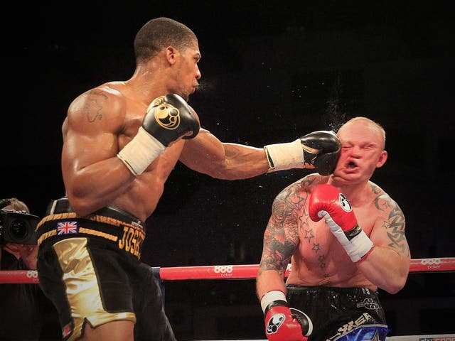 Joshua demolished fellow Brit, Dorian Darch, landing multiple crisp blows in the opening minutes and leaving him the referee no choice but to put an end to the fight.