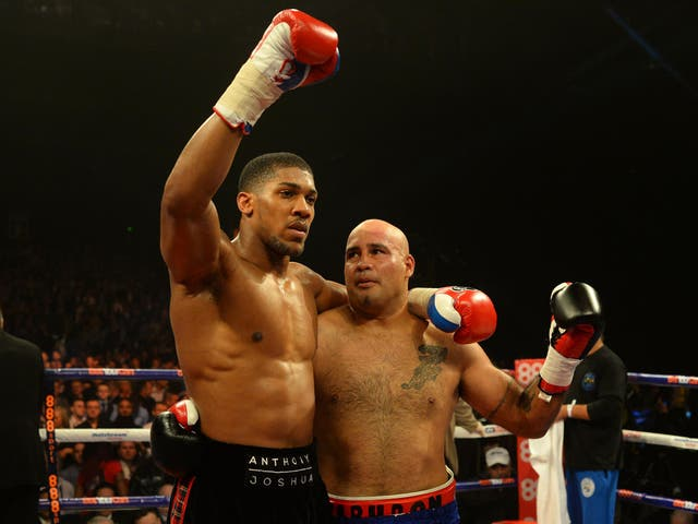 Joshua needed a mere 134 seconds to see off the challenge of Hector Avila in Glasgow and clock up his fifth win without defeat.