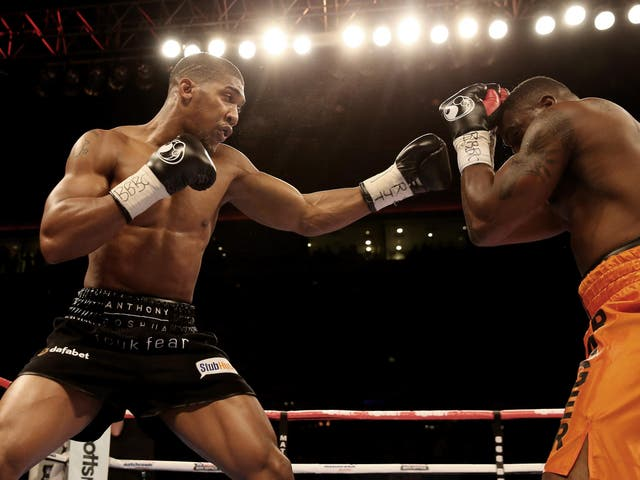Joshua needed less than 90 seconds to blast out veteran Michael Sprott and record his 10th successive knockout.