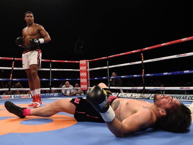 Another second round knockout brought Joshua's up to 12-0 as he flattened Brazilian Raphael Zumbano Love.