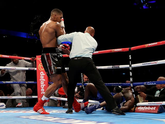 American 36-fight veteran Kevin Johnson proved to be no match for Joshua who needed only 2 rounds to walk away with another knock out