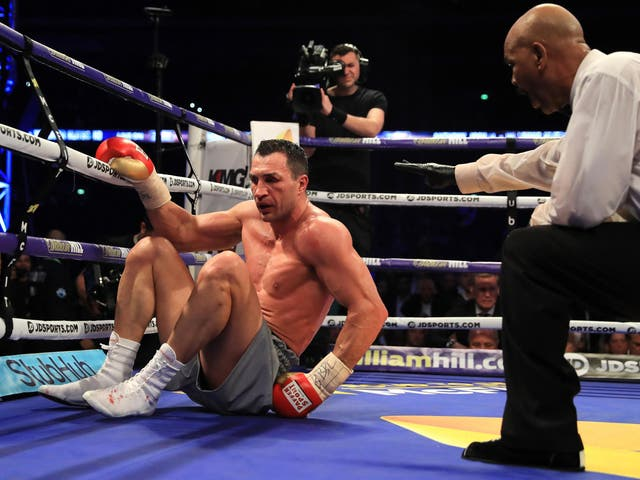 Faced by one the greatest heavyweight boxers of all-time Joshua produced an all-time performance, climbing off the mat after being knocked down in the sixth to power back and stop Klitschko with a violent barrage in the 11th round to earn the finest win of his young career