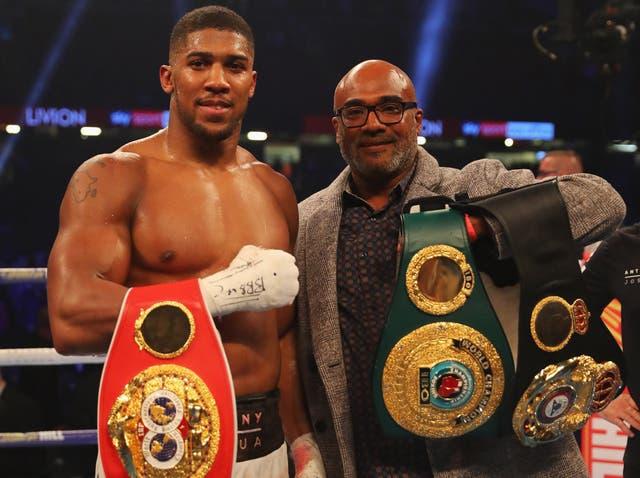 後 22 professional fights, Anthony Joshua boasts an unblemished career record