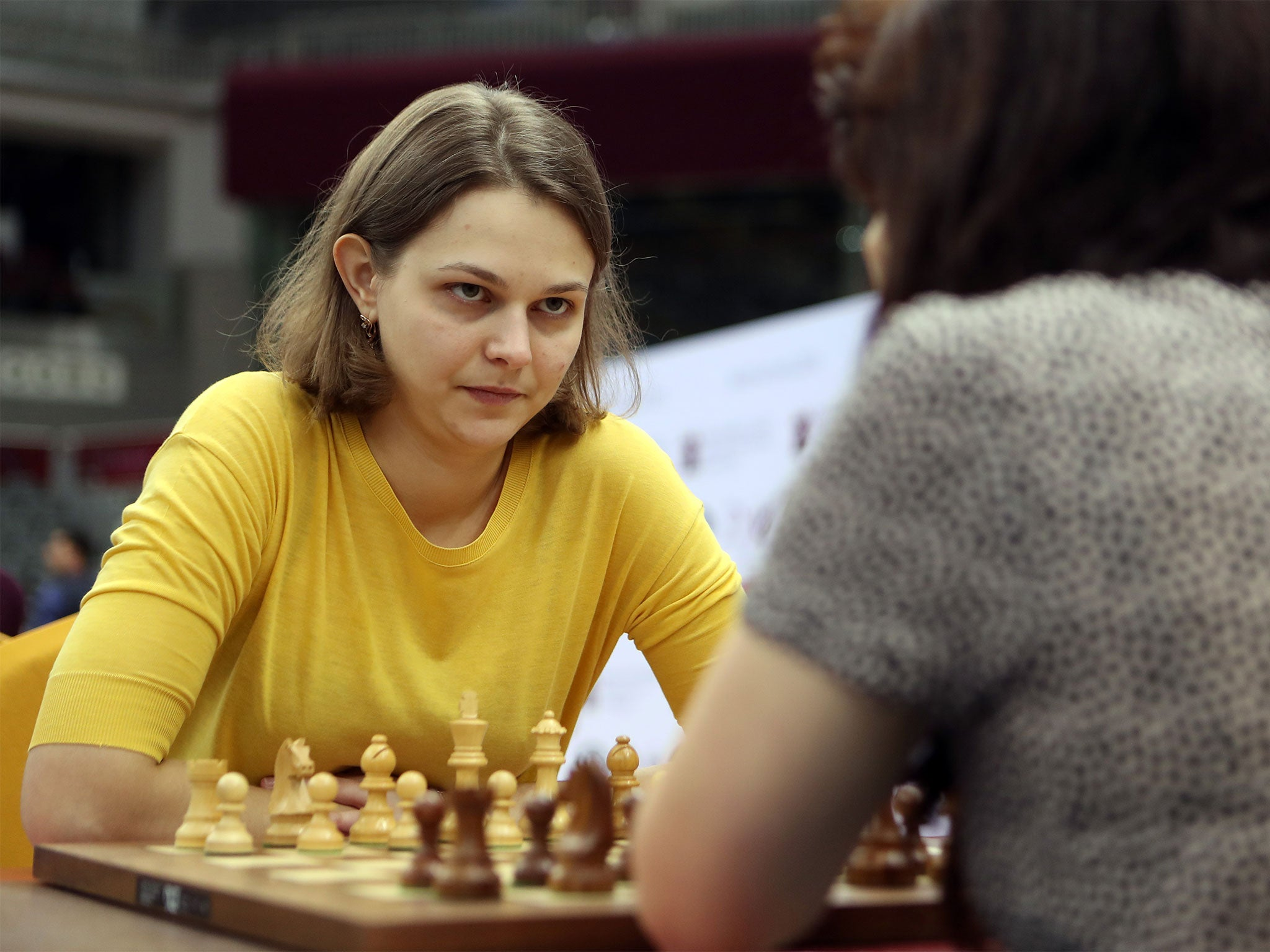 'I am ready to stand for my principles': Double world chess champion says she won't defend titles in Saudi Arabia because of kingdom's inequality. The Ukrainian, 27, will not travel to Saudi Arabia, where she wouldn't even be allowed to walk down the street unaccompanied.