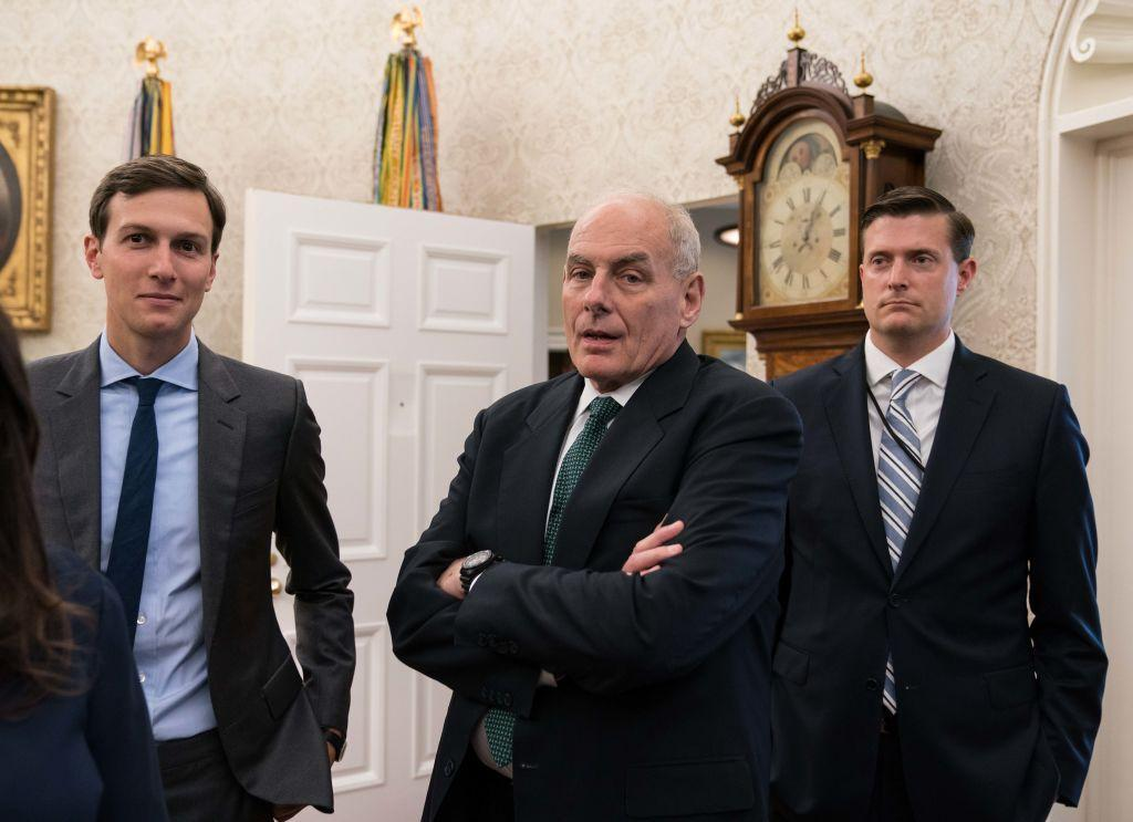 Donald Trump is 'embarrassed' by Russia investigation, White House chief of staff John Kelly says