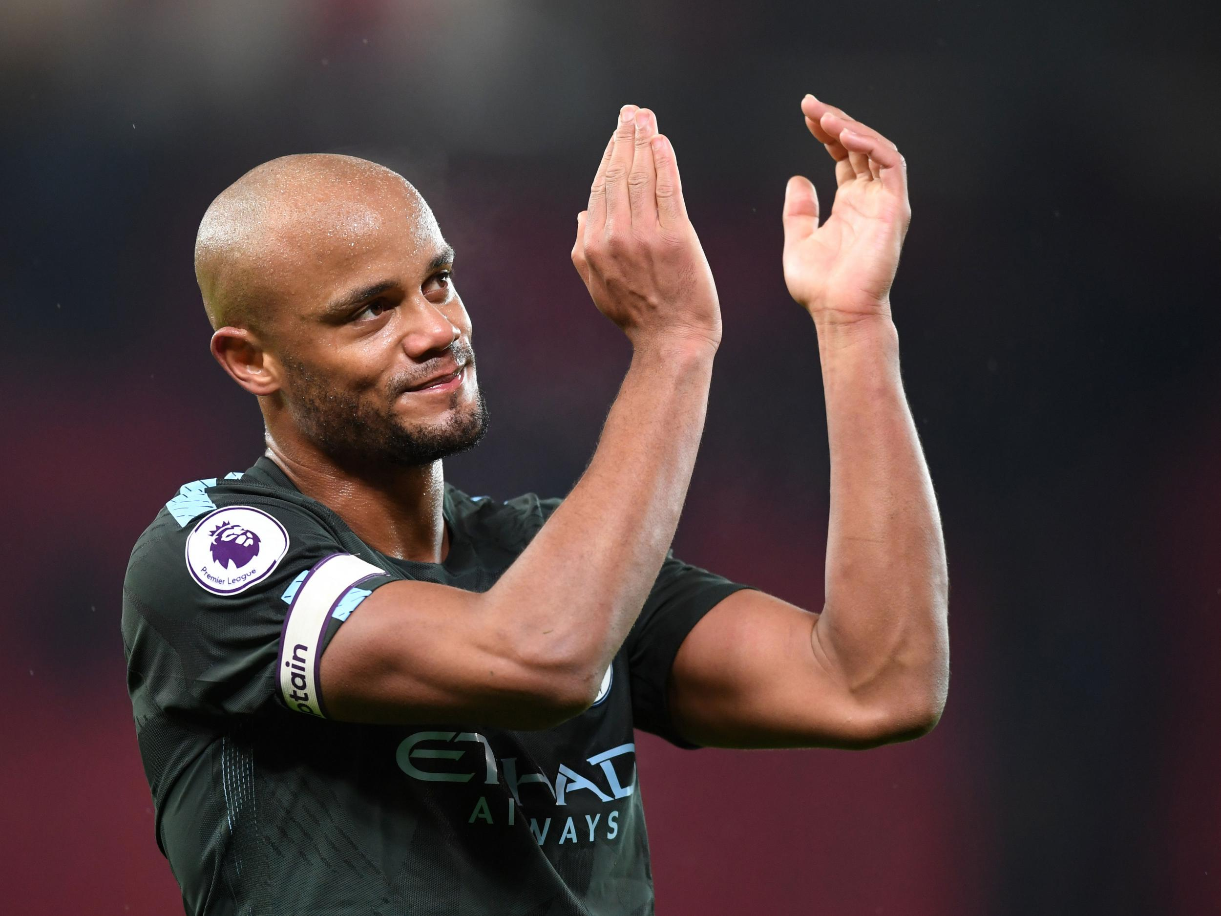 Manchester City defender Vincent Kompany unsure if beating Manchester United would top Sergio Aguero goal