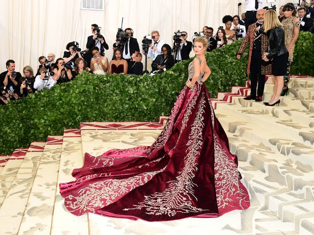 Blake Lively wears Versace to the Met Gala