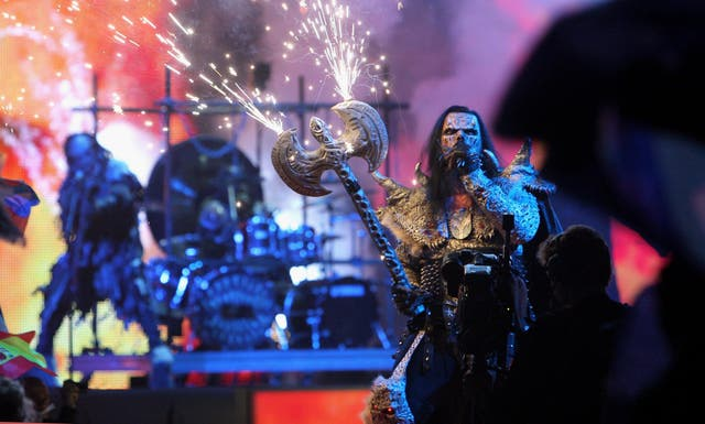 Lordi made history in 2006 by becoming the first hard rock act and Finnish artist to win the Eurovision Song Contest in 2006 with the song 'Hard Rock Hallelujah'.