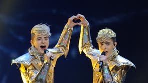 Pop duo Jedward, who became famous after appearing on the sixth series of The X Factor, represented Ireland at the Eurovision Song Contest in 2012, having previously represented the country at the competition the year before.