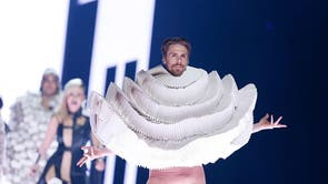The Eurovision Song Contest in 2016 opened with a fashion show that saw models donning unusual costumes made from what appeared to be toilet paper strut down the catwalk.
