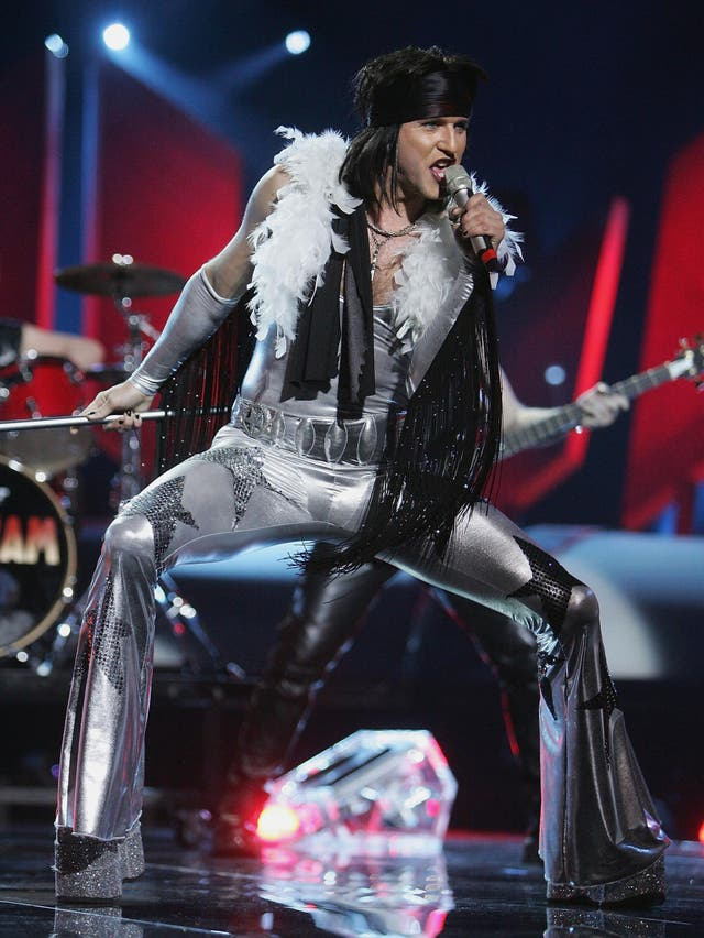 Norwegian glam metal band Wig Wam performed as representatives of Norway at the 2005 Eurovision Song Contest, achieving ninth place.