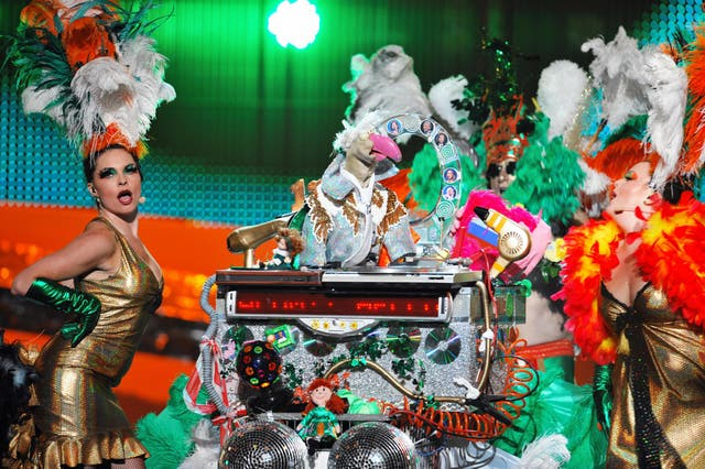 In 2008, puppet character Dustin the Turkey represented Ireland at the Eurovision Song Contest, only managing to reach the semi-final.
