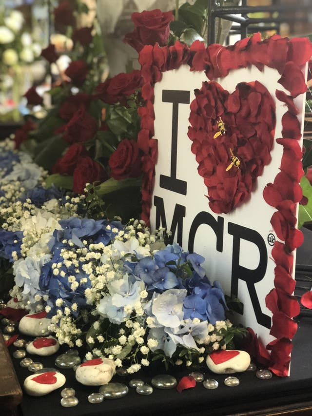 The Flower Festival at St Ann's Church marking the Manchester Arena bombing