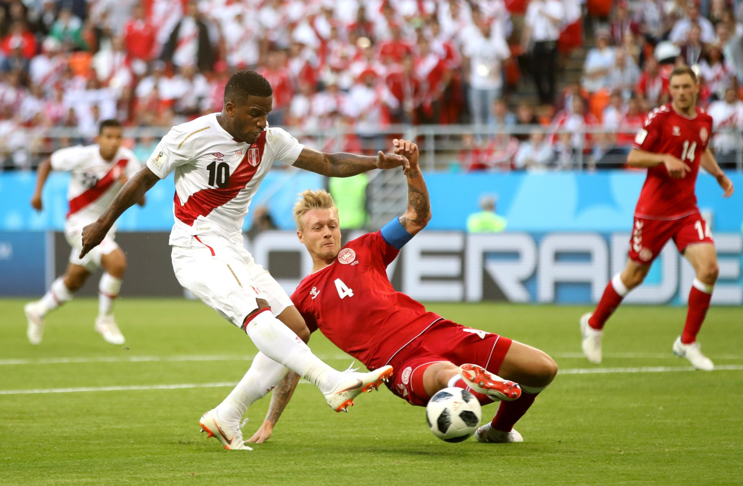 World Cup 2018: Jefferson Farfan ruled out of Peru's final World Cup match with 'traumatic brain injury'