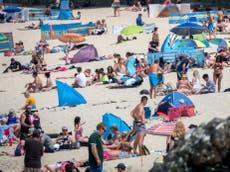 'It's overwhelming': London reels from September heat