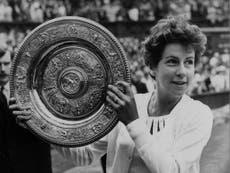 Maria Bueno: Four-time Wimbledon winner who became a Brazilian tennis legend