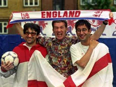 euro 2020: Three Lions co-writer David Baddiel says he was 'blind with joy' after England's historic win against Germany