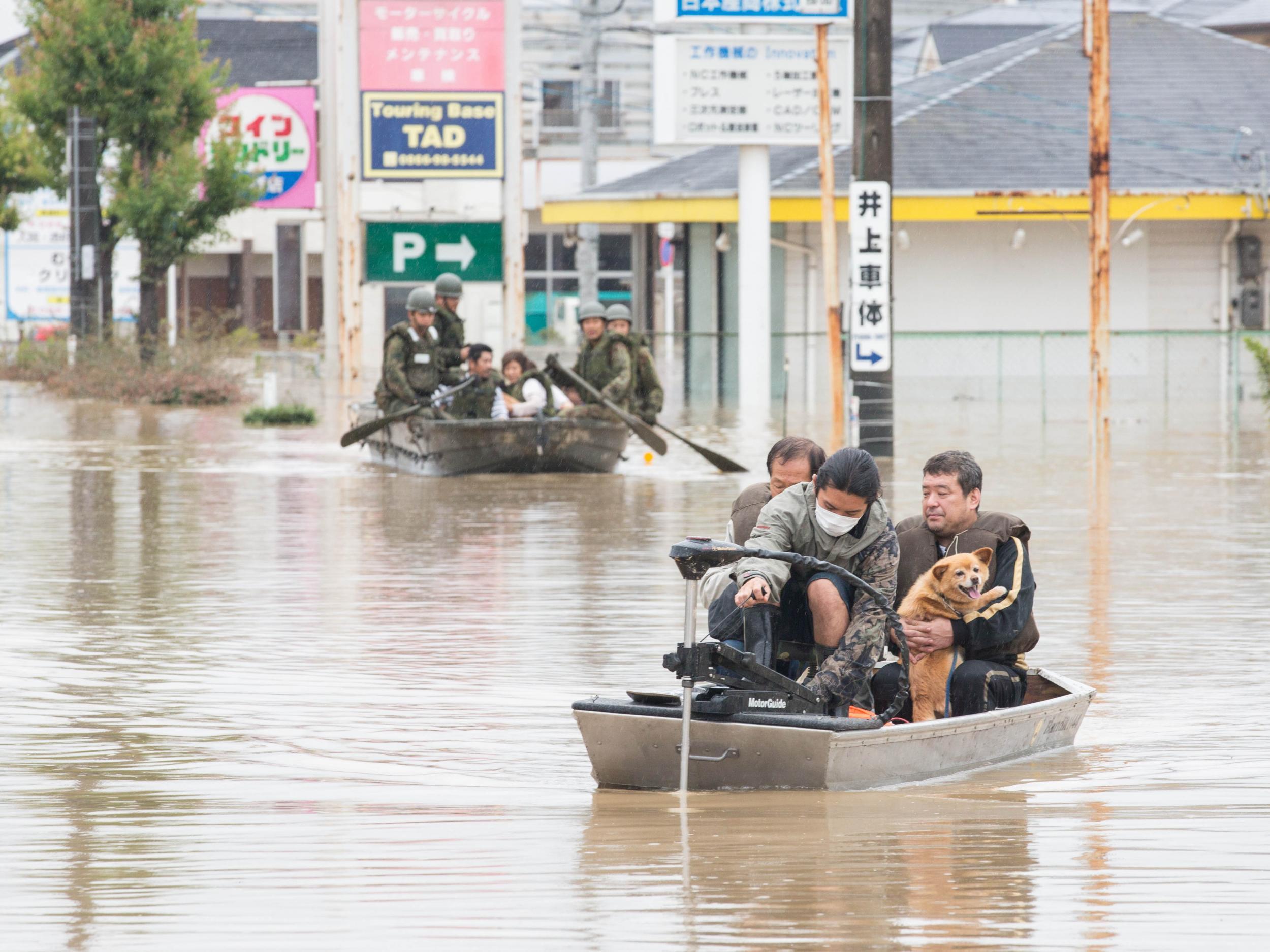 Japan flooding death toll rises as heavy rain continues