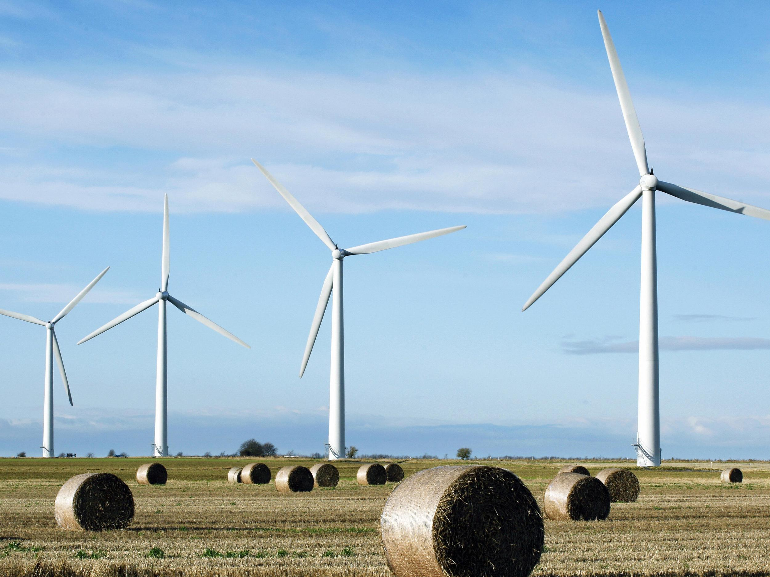 Nearly three quarters of people across their constituencies supported onshore wind and nearly the same proportion said they would be happy to live within five miles of turbines.