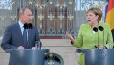 Merkel and Putin talk Syria, Ukraine and Nord Stream 2 – but meeting ends with no agreements