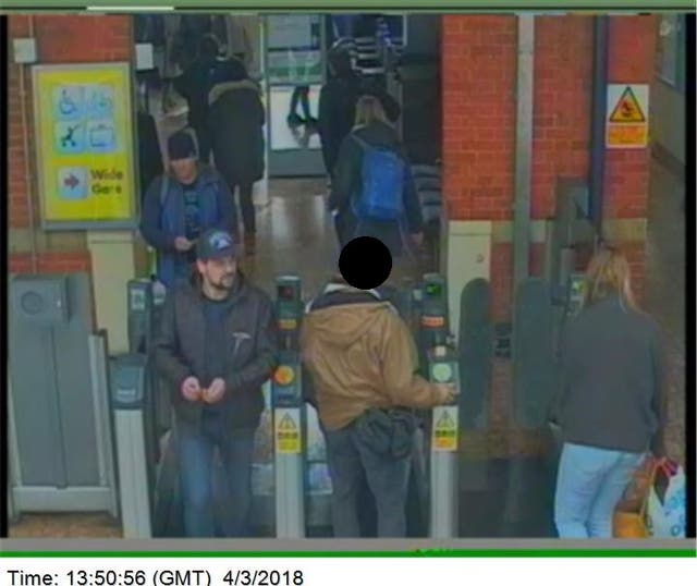 They left Salisbury and returned to Waterloo Station, arriving at approximately 4.45pm and boarded the London Underground at approximately 6.30pm to London Heathrow Airport
