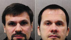 Suspects Ruslan Boshirov and Alexander Petrov, Russian nationals, ongeveer 40 jaar oud, who travelled on a Russian passport. It is likely that they were travelling under aliases and that these are not their real names