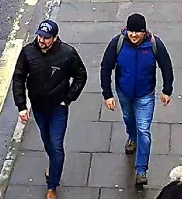 The CPS has issued European Arrest Warrants for the extradition of 'Boshirov' and 'Petrov' in connection with the Novichok poisoning attack on Sergei Skripal and his daughter Yulia in March